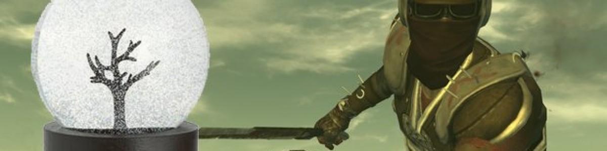 Fallout: New Vegas — снежные шары