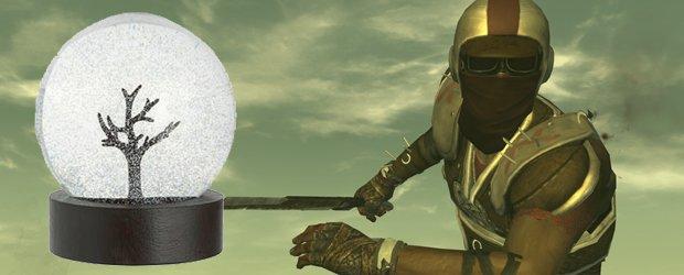 Fallout: New Vegas - снежные шары