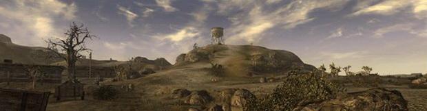 Водонапорная башня на холме