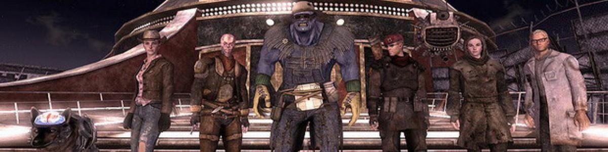 Fallout: New Vegas — спутники и квесты
