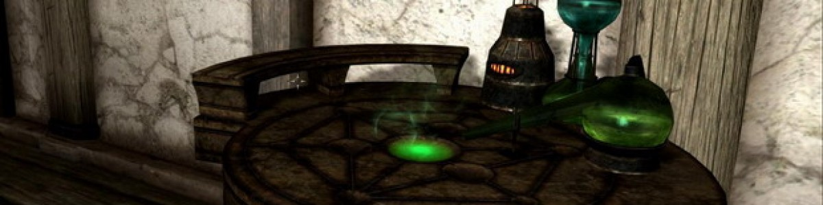 TES 5: Skyrim — алхимия