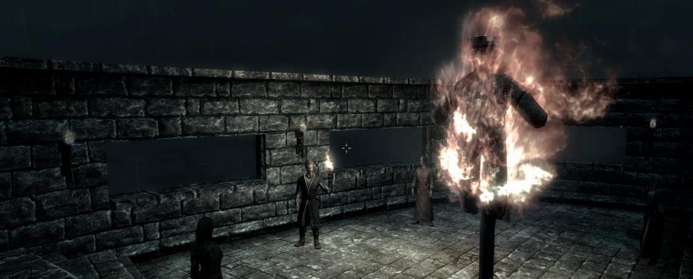 Сожжение чучела короля Олафа