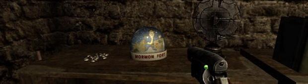 Снежный шар в форте мормонов