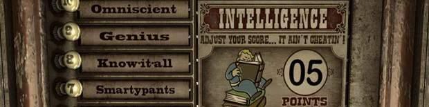 Fallout: New Vegas - характеристики