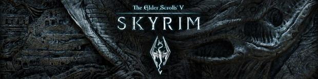 Логотип The Elder Scrolls 5: Skyrim