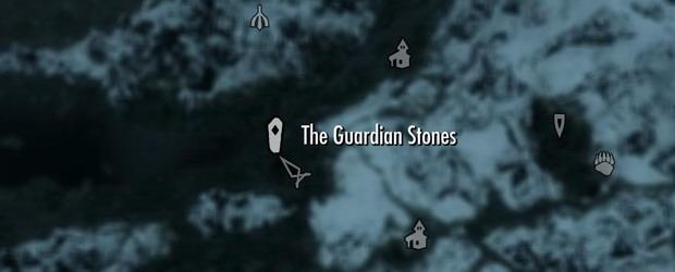 Местонахождение камней вора, воина и мага