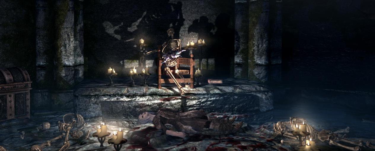 Скелет со звездой Азуры