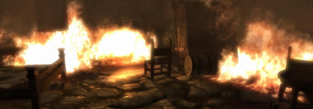 Убежище в огне