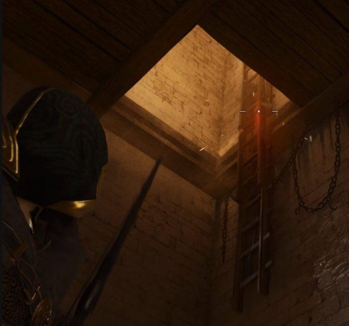 Лестница в церкви Бакингема