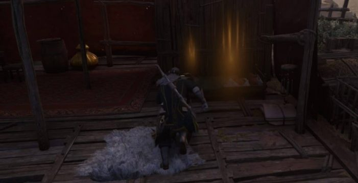 Сундук с плащом Магистра в доме на острове Берег Змея