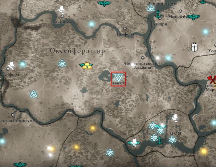 Аномалия в Оксенфордшире на карте мира