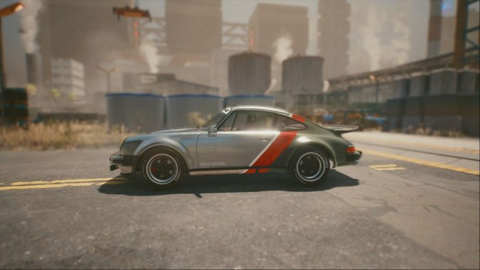 Машина Джонни Сильверхенда в Cyberpunk 2077