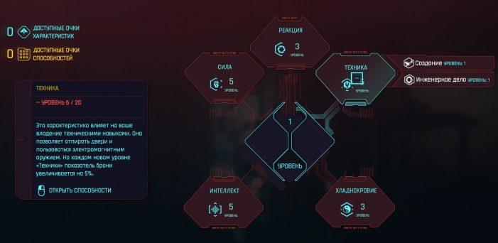 Техника в Cyberpunk 2077